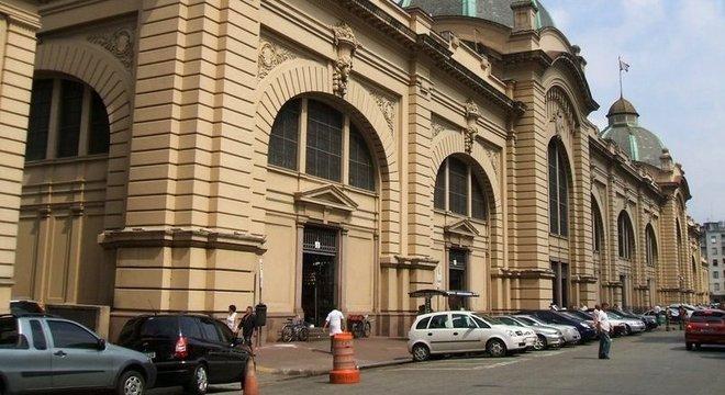 Mercado municipal de São Paulo, na região central da cidade