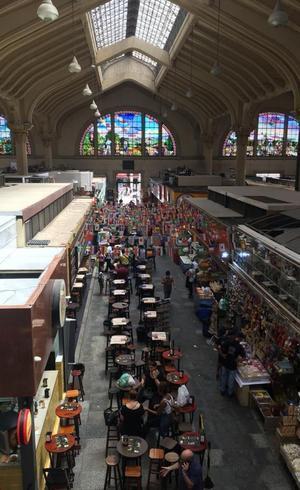 O mercado municipal de SP