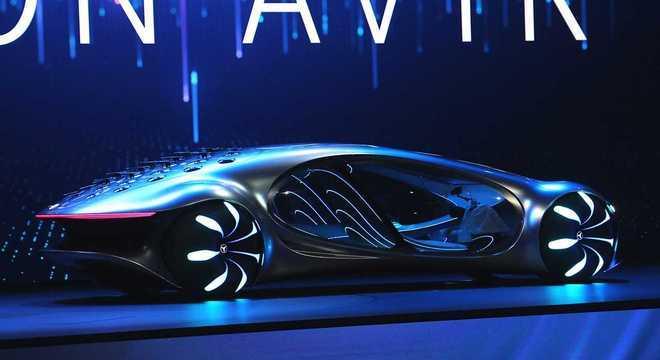 A Mercedes apresentou hoje (7), durante a CES ( Consumer Electronics Show ) uma novidade futurista com tração elétrica
