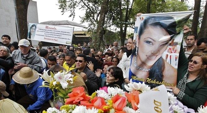 Mércia Nakashima foi morta em 2010