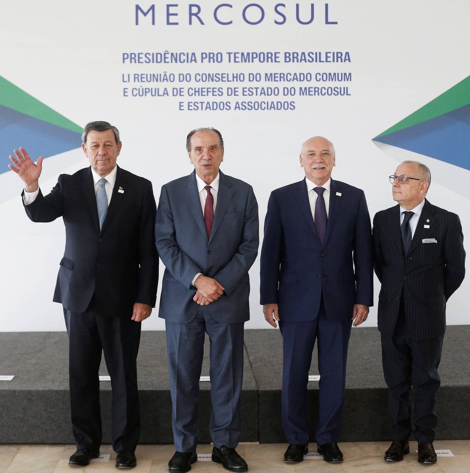 Mercosul e UE tentarão fechar acordo mais uma vez