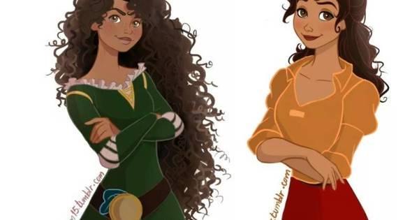 Pequena Sereia Negra Estes Artistas E A Disney Mostram Que E