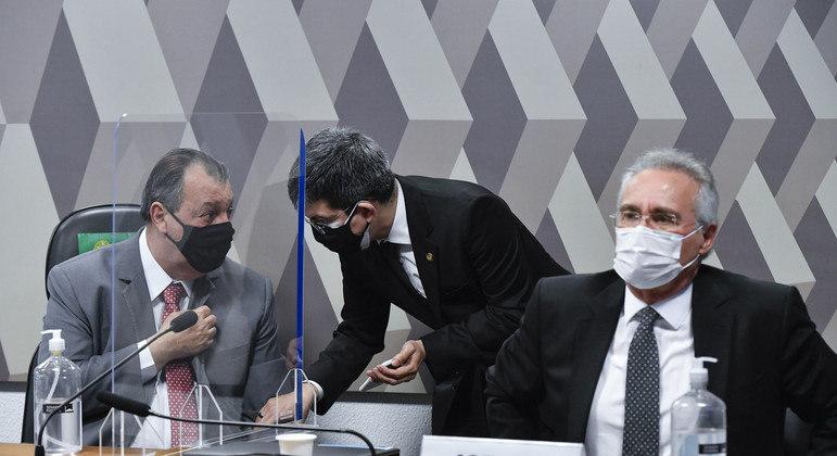 """CPI votará pedido de Witzel por """"sessão secreta""""  com os senadores"""