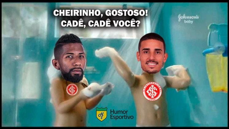 Mesmo após a derrota para o São Paulo, o Flamengo aproveitou o tropeço do Internacional e sagrou-se bicampeão consecutivo do Brasileirão. Nas redes sociais, os torcedores zoaram muitos o Colorado e brincaram com a ajuda do Corinthians. Veja os memes na galeria! (Por Humor Esportivo)