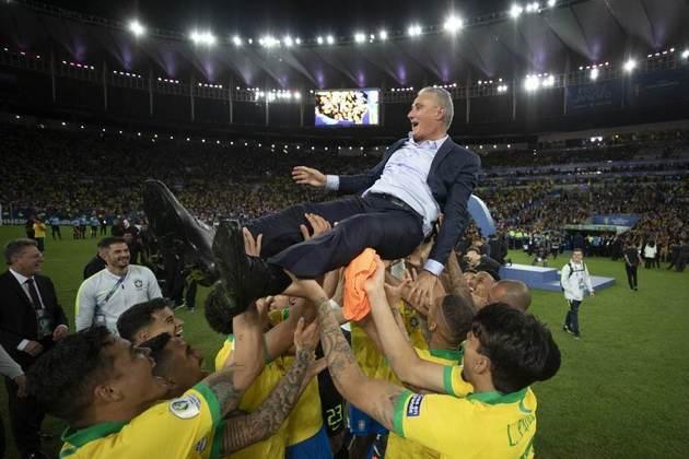 Mesmo com a eliminação na Copa, Tite continuou como treinador da Seleção. Em 2019, foi campeão da Copa América disputada no Brasil, ao vencer o Peru na final, disputada no Maracanã.