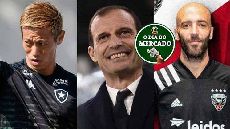 Mesmo com o futebol afetado pela pandemia do novo coronavírus, os clubes seguem atentos ao mercado da bola. O LANCE! traz tudo o que aconteceu nesta segunda-feira.