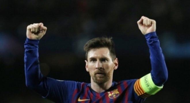 Messi coleciona recordes