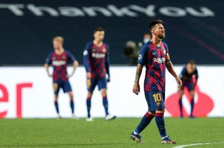 Lionel Messi está insatisfeito com diretoria