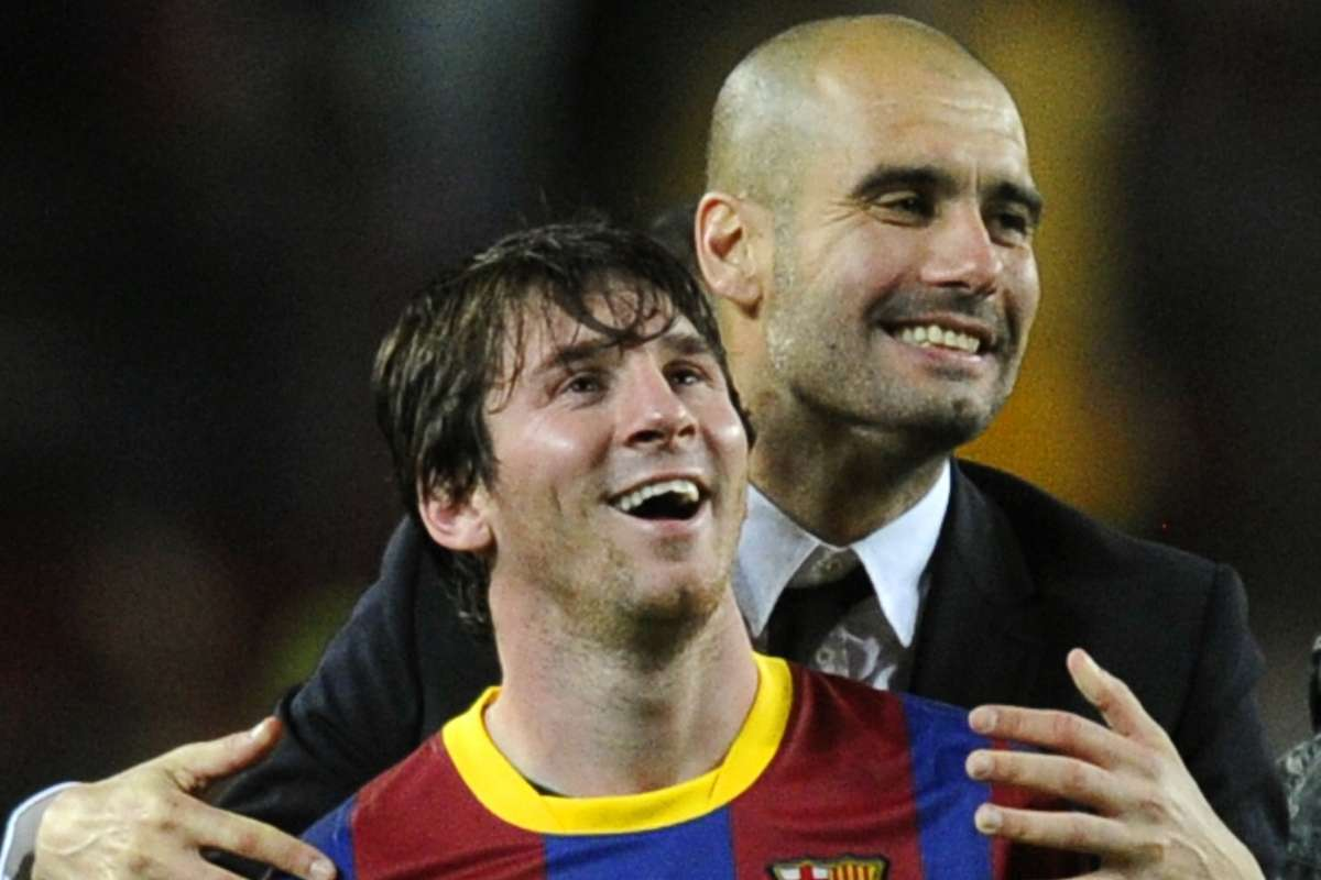 O destino de Messi deverá ser o City. Desde que Guardiola renove
