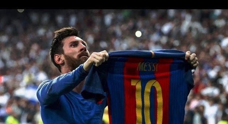 Messi ficou 21 anos no Barcelona. Seis vezes melhor do mundo. Ganhou quatro Champions