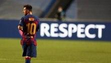 Liberamos Messi para salvar o clube, diz presidente do Barcelona