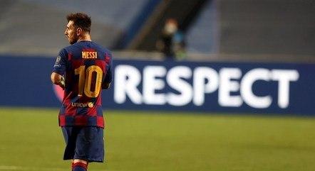Messi ficou no Barcelona por 21 anos