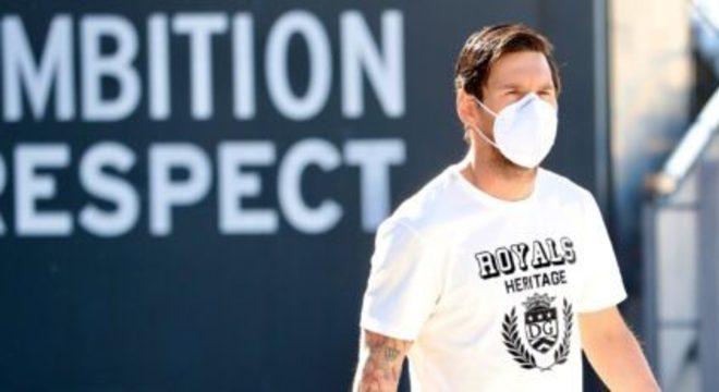 Messi havia se submetido a testes. Livre do coronavírus