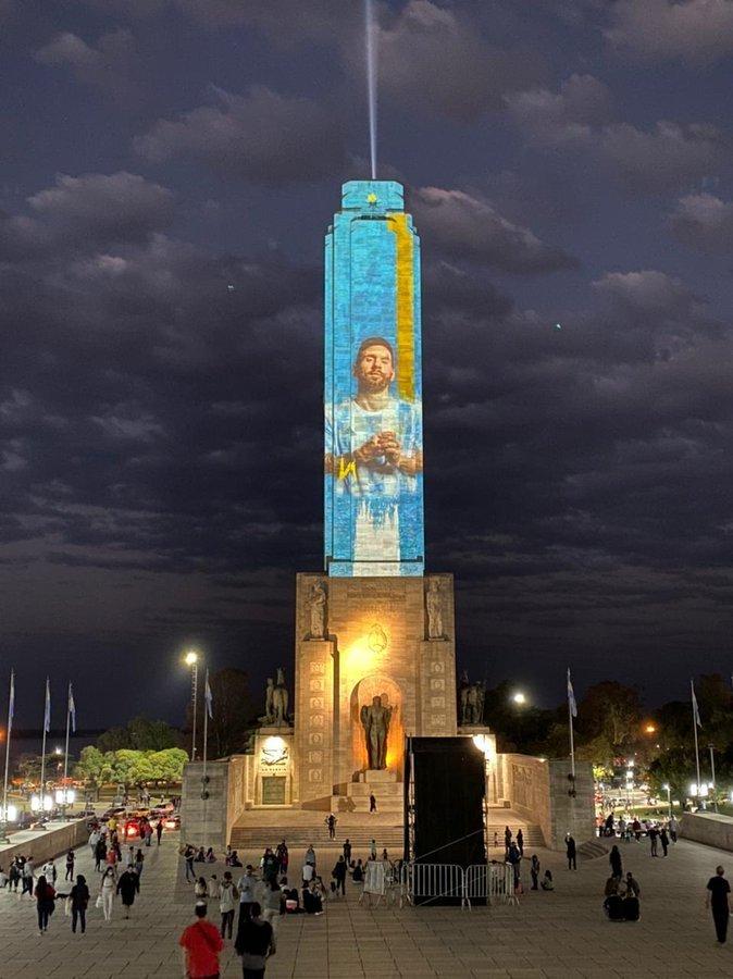 Na Argentina, a esperança de conquista está toda sob os ombros de Messi