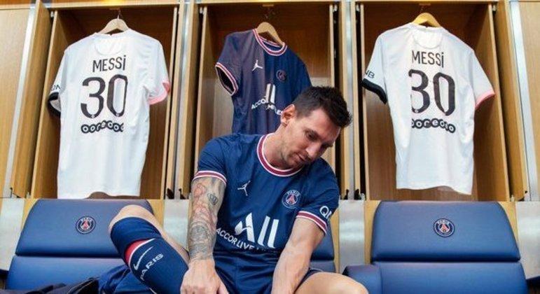 Messi, e a camisa 30