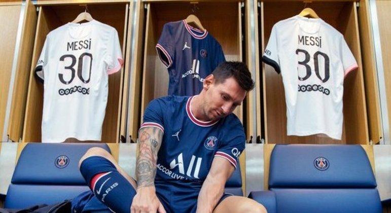 Jamais a camisa de um jogador vendeu tanto em tão pouco tempo. PSG já fatura com Messi