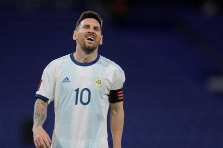 Messi ficou indignado em La Bombonera