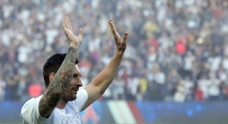 PSG não contará com Messi para a próxima partida