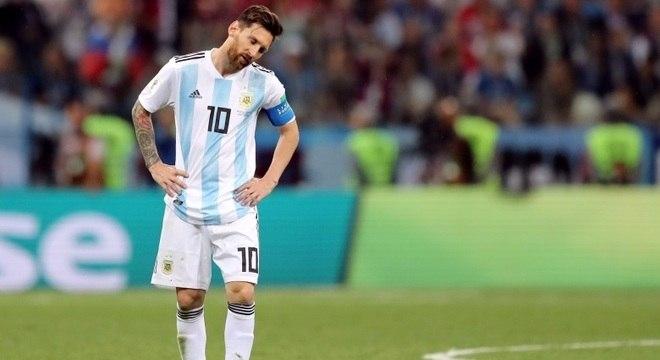 Resultado deixa Argentina de Messi em situação dificílima no Grupo D da Copa