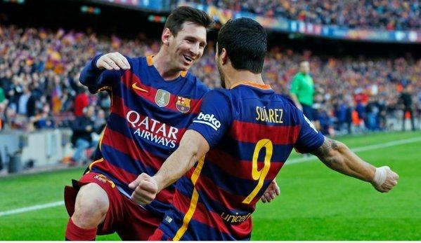 Messi e Suárez formavam uma dupla espetacular. Dentro e fora de campo