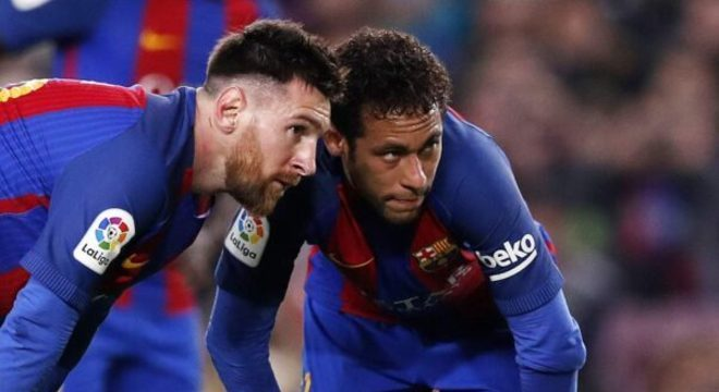 Neymar telefonou para Messi. Tentou convencê-lo a jogar no PSG. Ele quer o City