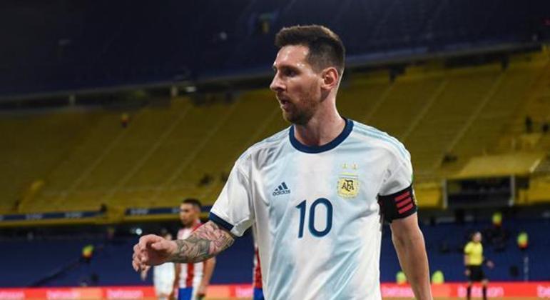 Messi é o grande nome da seleção argentina