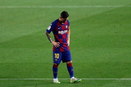 Pressionado, Messi busca manter equipe na Liga dos Campeões
