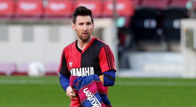 Craque argentino homenageou um dos maiores jogadores da história do futebol