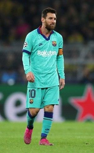 Messi brilha no Barcelona há anos