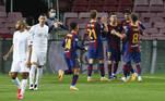 Messi, Barcelona x Ferencvaros
