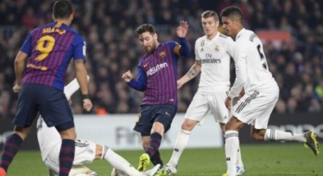 Real Madrid é uma das vítimas favoritas de Lionel