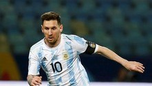 Argentina confia em Messi contra Colômbia por vaga na final