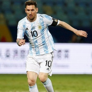 Messi é artilheiro da competição