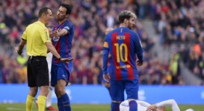 Messi costuma se dar bem no clássico