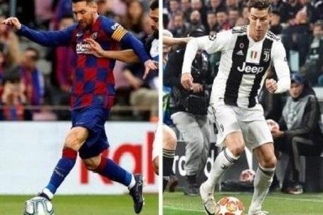 Messi e CR7 têm características diferentes