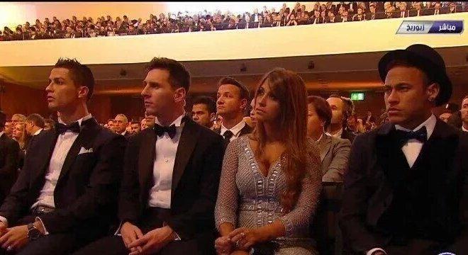 Cristiano Ronaldo e Messi, desta vez, longe da briga pelo troféu de melhor do mundo