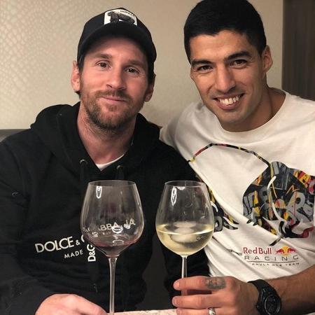 A dispensa de Suárez, pública, injusta, não foi aceita por Messi