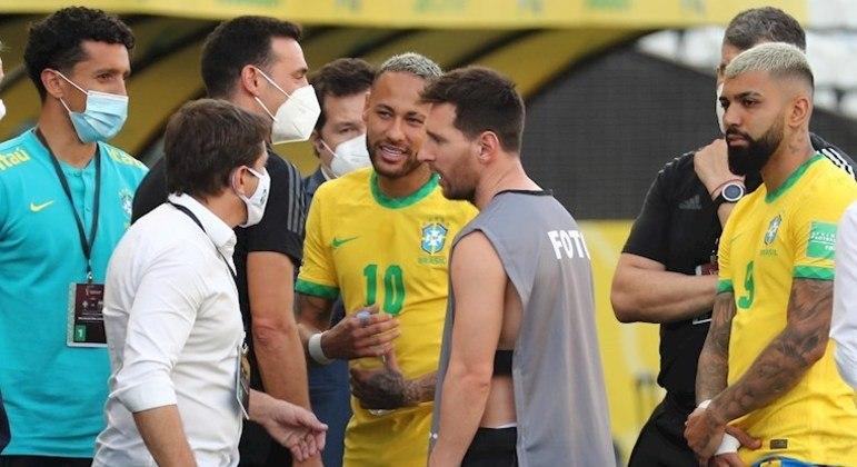 Conmebol suspende Brasil x Argentina; Fifa decidirá o caso - Esportes - R7 Futebol