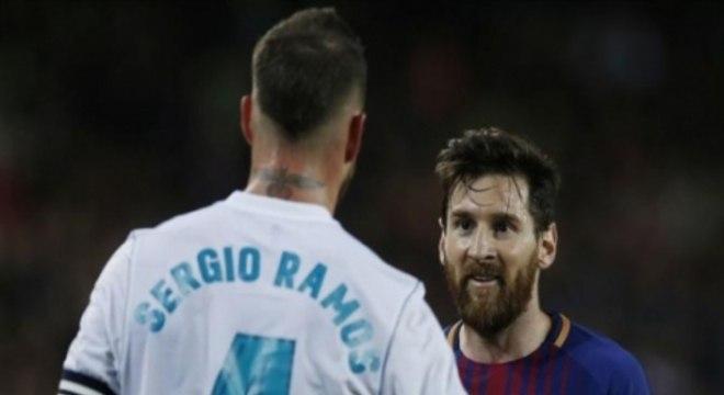 Messi gosta de jogar o clássico