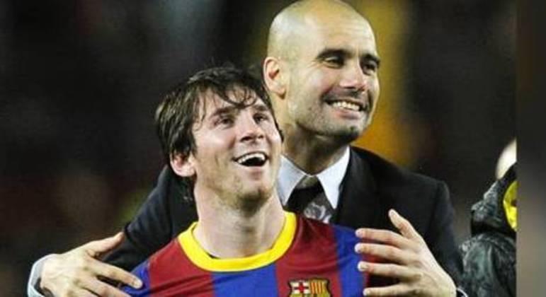 Tudo o que Guardiola mais queria era ter Messi no City. Mas fair play financeiro trava