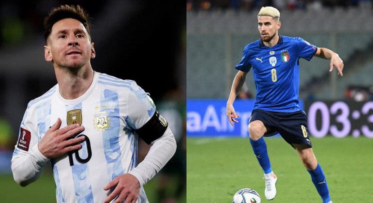 Argentina e Itália vão se enfrentar como parte de acordo entre Uefa e Conmebol
