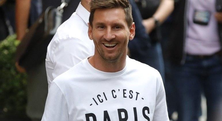 Lionel Messi é o novo jogador do Paris Saint-Germain