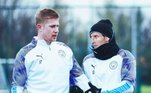 No Manchester City, para ser parceiro de De Bruyne