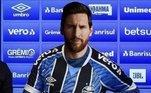 Messi no lugar de Cebolinha, no Grêmio
