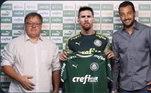 Tem Messi no Palmeiras
