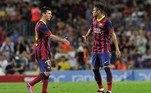 Messi, Neymar, Barcelona 2013,