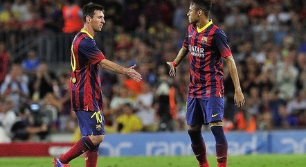 Messi e Neymar brilharam juntos