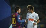 Messi, Neymar, Barcelona x Santos, Mundial 2011,