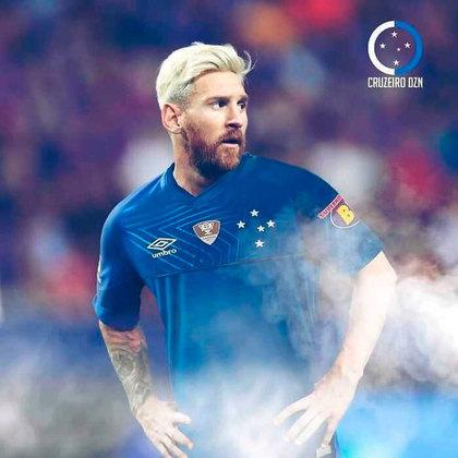 Messi no Cruzeiro