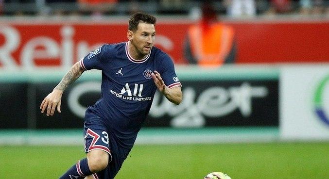 Messi entrou em campo aos 20 minutos do segundo tempo